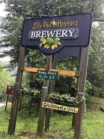 Lilly Pad Hopyard Brewery