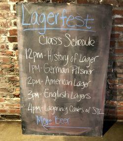 Urban Chestnut  Brewing Lagerfest