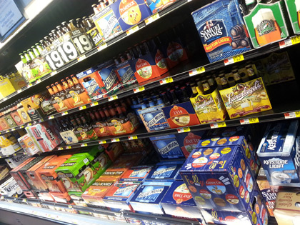 Awesome Beer Aisle At Walmart Design Ideas