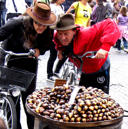 Shopping for chestnuts