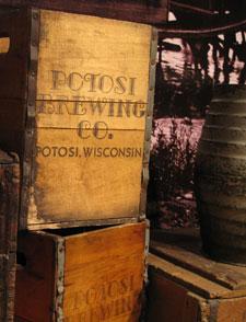 Potosi Brewing Co. crates