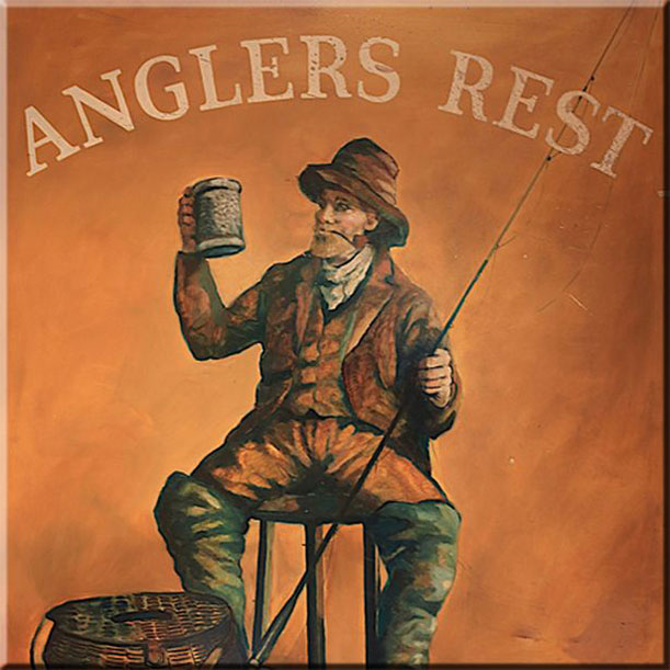 Anglers Rest pub sign