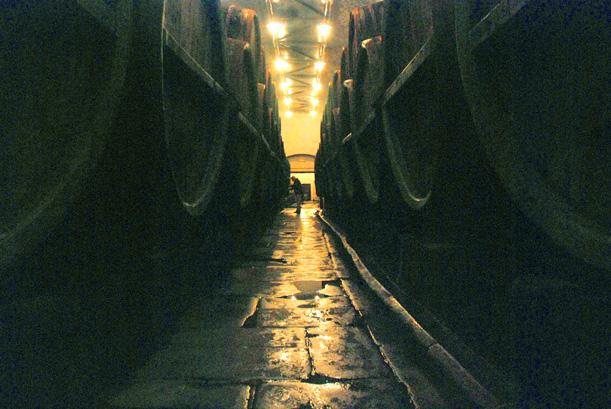 Cellar at Pilsner Urquell