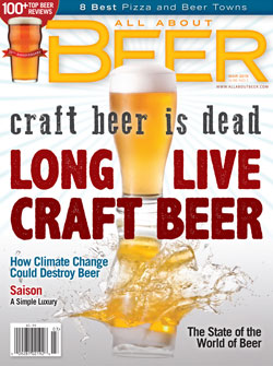 All About Beer Magazine cover