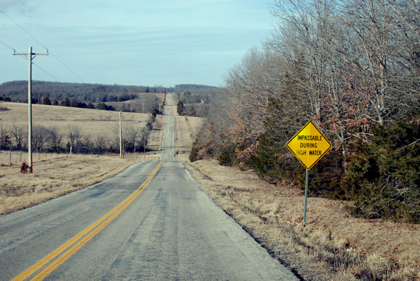 Highway ZZ, near Piney River Brewing Company