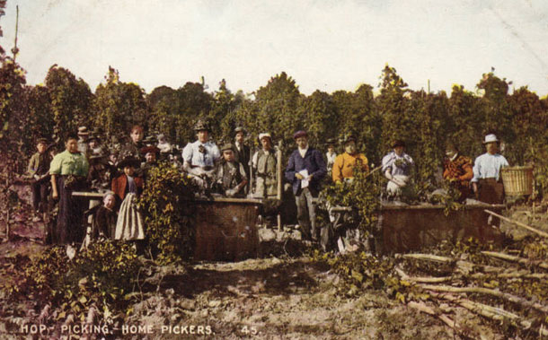 Hop pickers, Washington state, 1912