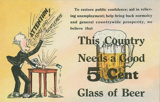 This country needs a good 5 cent glass of beer