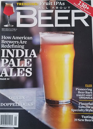 All About Beer magazine - Please pass the bitterness