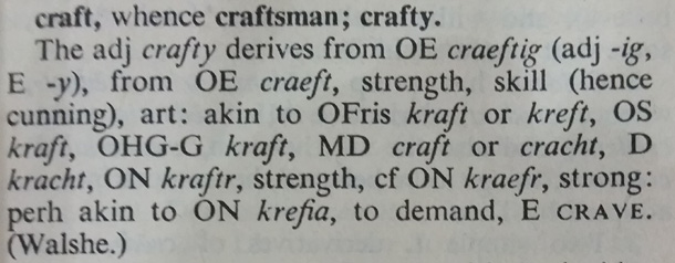 definition of craft (beer)