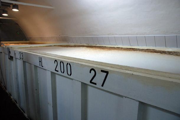 Open fermentation at Bracki Browar Zamkowy in Cieszyn