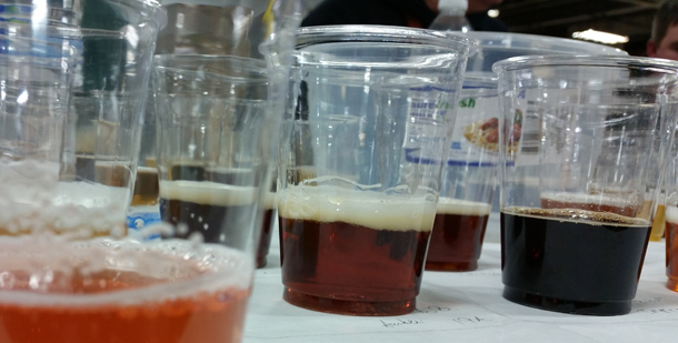 Best of show table Champion of the Pint