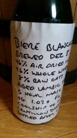 Zebulon Artison Ales Biere Blanche du Lovain