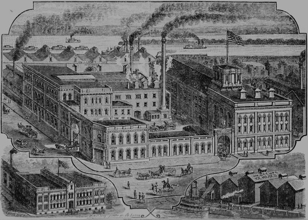 Lemp Brewing in the 19th century