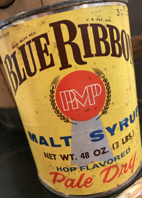 Blue Ribbon hop-flavor malt extract