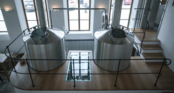 Brauerei Gasthof Schneider brewhouse